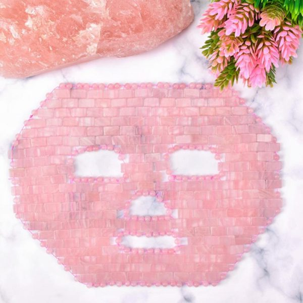 rose quartz face mask