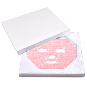 rose quartz face mask