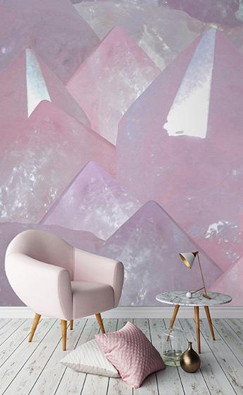 rose quartz homeware