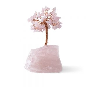 rose quartz tree